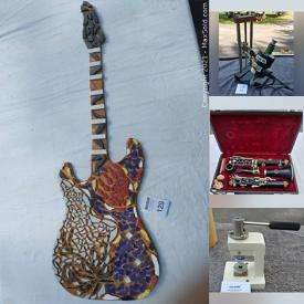 MaxSold Auction: This online auction features High-end Laboratory Equipment such as Flasks, Cylinders, Pipets, Test Tubes, Beakers, Thermotrol, Bunsen Burners, Test Tube Clamps, Absorption Bulbs, Hydrocollator, Filter Papers, and Cat 5 Cable, Musical Instruments, Indigenous Art, Turquoise Jewelry and much more!