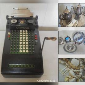 MaxSold Auction: This online auction features Room Divider, Area Rug, DVDs, Starting Lineup Action Figures, Roll-top Desk, Jewelry, Fishing Gear, Salt & Pepper Shakers, NIB Stereo Turntable, Window AC Unit, Legos, Carolina Panthers Jerseys, Art Pottery, Lath Art, Power & Hand Tools and much more!