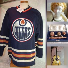 MaxSold Auction: This online auction features Vintage Pipes, Binoculars, Vintage Books, Edmonton Oiler's Jerseys, Hand Tools, Vintage Hand Tools, Door Hardware, Garden Tools, Handheld Musical Instruments, Soapstone Carvings, Cookie Jars, Lagostina Pans, Board Games, Antique Butter Molds, Toys and much more!