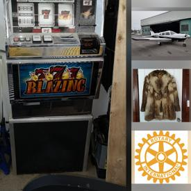 MaxSold Auction: This Charity/Fundraising Online features Slot Machine, Elliptical, Scuba Gear, Royal Doulton Figurines, Golf Clubs, Woven Tapestry, Kids Picnic Table, Art Pottery, Collector Plates, Dremels, Mink Stole, Halloween Costumes, Snowboard Equipment, Ski Boots, Collectible Teacups and much more!