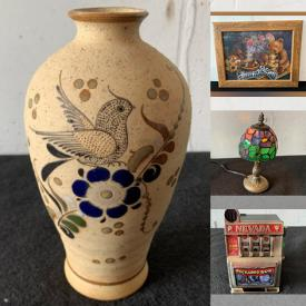 MaxSold Auction: This online auction features Coins & Banknotes, Wall Art, Vintage Marbles, Art Pottery, Toys, Doll House, DVDs, Metal Knobs, Sports Equipment, Art Glass, Vintage Lighter, PEZ Dispensers, Trinket Boxes, Jewelry, Sports Trading Cards, New Dress Shirts, Legos and much more!