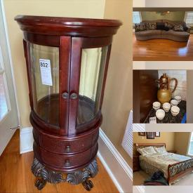 MaxSold Auction: This online auction features fine bone china, Samsung washer, Maytag dryer, GE refrigerator, furniture such as Bernhardt sofa, Havertys nightstands, curio cabinet, Cindy Crawford sectional, bunk beds and dining table, lamps, framed wall art, small kitchen appliances, planters, children's toys, HP printers, Samsung Blu-ray player, children's bikes, hoverboard, books, children's musical instruments, XBox games, Christmas decor, basketball hoop, Charbroil grill, and much more!