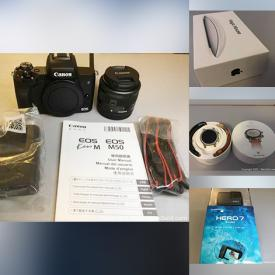 MaxSold Auction: This online auction features New in Box items such as GoPro, Smartwatches, Professional Microphone, Gaming Gear, Magnetic Letters, Apple Airtags, and Computer Parts, Beauty Appliances, Mini Drone and much more!