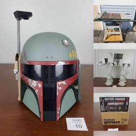 MaxSold Auction: This online auction features Star Wars Collector's Vehicles & Figures, Sci-Fi TV series' DVD sets, Disneyana, Dolls, Books, Home Repair & Improvement Equipment and Supplies, Hand Tools & Hardware, Home Electronics & Tech Gadgets, Computer Equipment and Components, Nostalgic Toys & Games, Sporting goods & gear, Women's Clothing, Shoes, and Accessories, Workshop Power Tools & Equipment and much more!