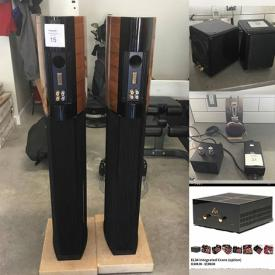 MaxSold Auction: This online auction includes men's watches, Sonus speakers, amplifiers, La Pavoni espresso machine, wall art, audio cords, and more!