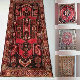 MaxSold Auction: This online auction features rugs from Thornhill Persian Rugs such as machine-made Kilim rugs, hand-knotted Najafabad Isfahan, Ardebil, Hamedan, Turkman, Kashan, Mahal rugs and much more!