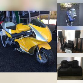 MaxSold Auction: This online auction features Zeimini Children's Bike, Patio Furniture, John Deere Collectibles, Small Kitchen Appliances, Hand Tools, Steel Toe Boots, Pressure Washer, Air Compressor, Welding Gloves, Area Rug, Camping Gear, Surround Sound System, TV, Electric Fireplace, Inversion Table, Bunkbeds, Danby Air Conditioner and much more!