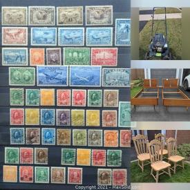 MaxSold Auction: This online auction features Antique Furniture, Hutches, Chairs, Signed Artwork, Sports Cards, Sports Memorabilia, Barbie Dolls, Bratz Dolls, Toys, Royal Doulton, Patio Furniture, Lawn Equipment and much more.