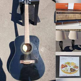 MaxSold Auction: This online auction features Pots and Pans, Artwork, Kids Toys, Kitchenware, Snow Globes, Candlestick Holders, Bedroom furniture, Electronics and much more.