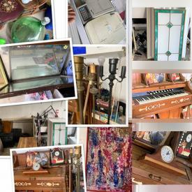 MaxSold Auction: This online auction features a piano, lamps, household appliances, luggage, decor and much more!