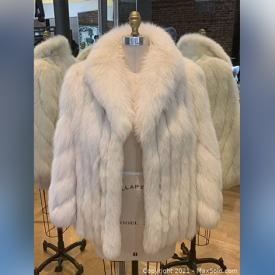 MaxSold Auction: This online auction features Fur Coats including Arctic Fox and Ranch Mink and Black & White Cross Mink.