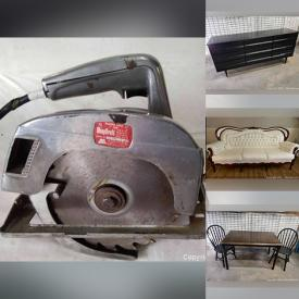 MaxSold Auction: This online auction features Sporting Equipment, Kitchen Appliances, Kids Toys, Camping Gear, Glassware, Figures, Statues, Water Color Artwork, Power Tools, Electronics, Books, Records, Clothing, BBQ, Furniture and much more.