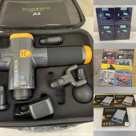 MaxSold Auction: This online auction features New in Box Items such as Headphones, Massagers, Gaming Gear, Beauty Products, Flameless Candles, Door View Camera, Computer Components, LED Lights, WIFI Smart Camera, LPs and much more!