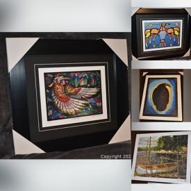 MaxSold Auction: This online auction features Original Don Chase Paintings, Fine Art Prints by Bruce Morrisseau, Maud Lewis, Tom Thomson, Christian Morrisseau, and Coins, Banknotes and much more!