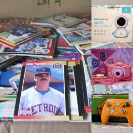 MaxSold Auction: This online auction features New in Box items such as Pet Supplies, Earbuds, Small Kitchen Appliances, Kids Smart Watches, Nightlights, Space Heaters, and Men's Shirts, Sports Cards and much more!