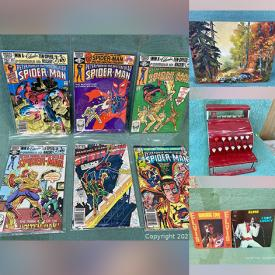MaxSold Auction: This online auction features Vintage items such as Comics, Bunnykins, Toys, Coca-Cola Collectibles, Art Glass, Milk Glass, LPs, Fishing Tackle and much more!