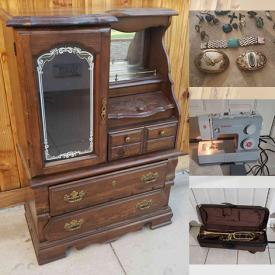 MaxSold Auction: This online auction features Craftsman Rolling Toolbox, Power & Hand Tools, Harley Davidson Wear & Collectibles, Coca-Cola Trays, Rocks & Fossils, Jewelry, Power Recliner, Accordion, Euphonium, Camping Tents, Cast Iron Stove, Funko Pop Collection, TV, Outdoor Fire Pit, Video Game System & Games and much more!