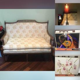 MaxSold Auction: This online auction features Massage & Facial Beauty, lamps, mirrors, Antique & Vintage Solid Wood Furniture, Women's Clothing, Shoes, and Accessories, Signed Artwork, treasured items and much more!