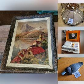 MaxSold Auction: This online auction features Electric Fireplace, Wooden Apple Baskets, Electric Snow Blower, Mini Fridge, Vintage Furniture, Bud Griffin Wooden Duck Decoys, Collector Plates, Pet Supplies, Oil Paintings, Vintage Farm Scythes, and much more!