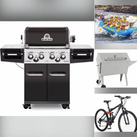 MaxSold Auction: This online auction features furniture, yoga class passes, tickets to the Museum of Illusions, gift certificates, Zipline & Aerial Game, Coleman Wheeled Cooler, Satisfyer Air Pulse Stimulator from Pink Cherry, Membership to NRG Fitness, Custom Orthotics Package, Grillers, bike, backpacks and much more!