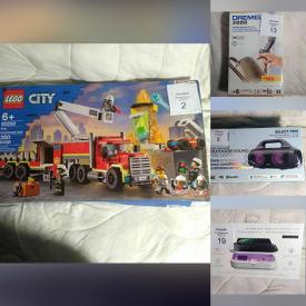 MaxSold Auction: This online auction features New in Box Items such as Legos, Home Sensor, Portable Generator, Dremels, Baby Brezza, Security Cameras, Vacuums, Air Purifiers, Small Kitchen Appliances, Kitchen Faucets, Pressure Washer, Men's Cologne, Cricut Joy, and much more!