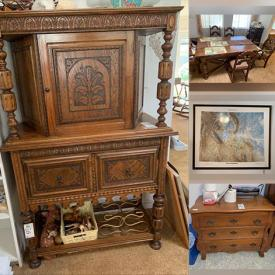 MaxSold Auction: This online auction features furniture, figurines, glassware, jewelry, art, electronics and much more!