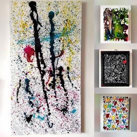 MaxSold Auction: This online auction features Original Artwork by Tadas Zaicikas (TedyZet) and Marc Chagall Lithographs and Andy Warhol, Lithograph, Book and much more!