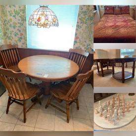 MaxSold Auction: This online auction features home furniture, cleaning supplies, toys, home ornaments, books, office supplies, electronics, adults and kids clothing, sofas, chairs, beds, toys, costumes, gardening items, fish tanks and much more!