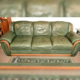 MaxSold Auction: This online auction features Twin Trundle Bed and Night Stand, Cutlery, Rattan Couch, Modern style rectangular glass and iron coffee table, Leather Sofa, Small & Tall Lamps, Large Decorative Art Pieces and much more!