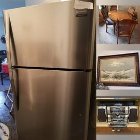 MaxSold Auction: This online auction features furniture such as tables, Tiffany-style lamps, and shelving units, electronics such as Radios, Stereo System, Television, and Video Camera, collectibles such as Wedgwood, Lenox, and Enesco, books, jewelry, kitchen accessories, Christmas decor and much more!