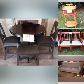 MaxSold Auction: This online auction features Framed & Unframed Wall Art, DVDs, Christmas Figurines, Living Room Couch, Pilates Machine, Area rug, Patio Furniture, Dining Table & Chairs, and Much, Much, More!!
