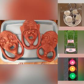 MaxSold Auction: This online auction features Music Boxes, Pet Supplies, RV Supplies, Push Lawnmowers, Wrought Iron Bed Frame, Tub Chair, Snowboard, Craft Supplies, RC Car, Power Tools, Bobble Heads, Traffic Lights, Books and much more!