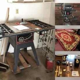 MaxSold Auction: This online auction features Musical Instruments, Area Rugs, Furniture, Electronics, Watches, Crystal, Glassware, Kitchenware, Appliances, Handbags, Health & Beauty, Shoes and Clothing, Power Tools, Hand Tools and much more.