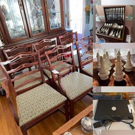 MaxSold Auction: This online auction features Lenox China, Sterling Silver, Heisy Serveware, Fine China, Jewelry, Laptops, Furniture, Candelabra Lamp and much more!