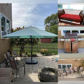 MaxSold Auction: This online auction features a bbq, outdoor furniture, appliances, china sets, art, electronics, exercise equipment and much more!