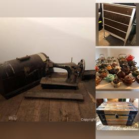 MaxSold Auction: This online auction features Antique Cast Iron Stove, Teapot Collection, Vintage Books, Vintage Dresser, Miniature Shoe Collection, Souvenir Spoons, Antique Trunk, Blue Mountain Pottery, Collector Plates, Vintage Toy, NIB Ceiling Fan, Pet Crates, Antique Horse Items, Weighted Blankets and much more!