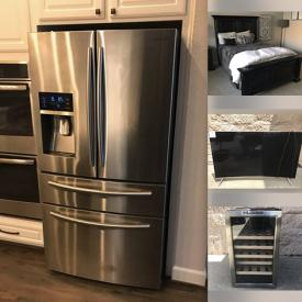 MaxSold Auction: This online auction features sofa sets, mirrors, pillows, kitchenware, nightstands, dressers, wall art, lamps, kitchen table, cooking book, outdoor movable fountain and much more!