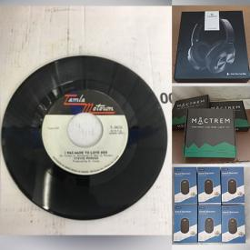 MaxSold Auction: This online auction features LPs, CDs, NIB Beauty Appliances, Kids Watches, NIB Computer Gear, Fish Finder, NIB Water Dispenser, Solar Panel Security Camera, Solar Decorative Light, NIB Toys, and Much, Much, More!!