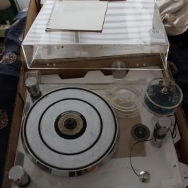MaxSold Auction: If you like HIGH-QUALITY sounds equipment check out this Petrolia Estate Auction hosted by MaxSold. Featuring a Win Laboratories Turntable, Receiver, Accordion and more! This was one interesting auction!