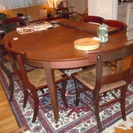 MaxSold Auction: This online auction features furniture, electronics, yard tools, collectibles, decors, artworks and electronics such as books, dining table and chairs, asian tea cart, wedgewood pitcher, bamboo and glass table, wicker table, wrought iron chairs and much more!