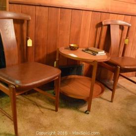 MaxSold Auction: Teak furniture always does well in a MaxSold auction. Don't believe  us? Check out this White Plains Moving Auction!