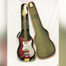 MaxSold Auction: This online auction features jewelries, music instrument and accessories, decors, electronics, artworks and collectibles such as vintage teisco electric guitar from the early '60s, Sirius satellite radio, Pope royal doulton and much more!