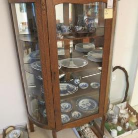 MaxSold Auction: Featuring bent glass china cabinet, patio furniture, burled walnut dresser, teak buffet and hutch, bookcases, china, original artworks, lamps, and more.  Pickup: Friday, November 1 EDT, Category A 5-6:30pm, Category B 6:30-8pm. Please see individual lots for category assigned to them. **There is limited parking so please follow category times. There may be some wait times due to the parking.
