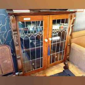 MaxSold Auction: This online auction features Brazilian art on canvas, Vintage Dresser, Kaufman of Collingwood wooden wall units, Pig skin lacquered drop leaf trolley, Bissell Shampooer, copper and clay pots, brass horns, leaded glass doors wood cabinet and much more!