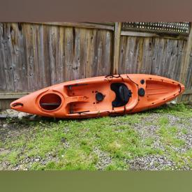 MaxSold Auction: This online auction features Pescador sports kayak, bookcase, rowing machine, custom made credenza, filing cabinet, night stand, patio furniture, artwork, kitchenware, books, kitchen appliances and much more!