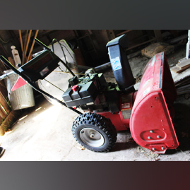 MaxSold Auction: This online auction features Frigidaire upright freezer, Everlast punching bag, Wood sled which is made in Austria, Pair of wagon wheels, MTD Yard Machines snowblower, Coleman 15 ft canoe, Huffy basketball stand with plastic base, Electric Halex air hockey table and much more!