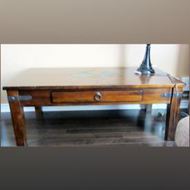MaxSold Auction: This online auction features side table, coffee table, lamps, mirror, end tables, pictures, and much more!
