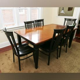MaxSold Auction: This online auction features furniture such as dining table and chairs, wood dresser, leather recliner and ottoman, solid wood captain chairs and antique chinese alter table. It also features rugs, garden decor, carpet and much more!