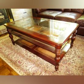 MaxSold Auction: This online auction features furniture such as Bergere chair, cabinet, bookcases, computer desk, executive desk, sectional sofa and coffee table. It also features rugs, artwork, purses, kitchenware, crystal and much more!