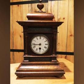 MaxSold Auction: This online auction features ANTIQUE furniture, woodenware, shotgun reloading tools, binoculars, mantle clock, horseshoes, candle stand. VINTAGE: 38 mm fujica camera, child's stool and chair step, lamps. COLLECTIBLE: Brass, folk art, Royal Worcester egg coddler. Digital camera and much more!